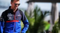 Image: Confirmed: Kvyat's retirement due to Honda engine oil leak