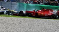 Image: Vettel three points from a race ban!
