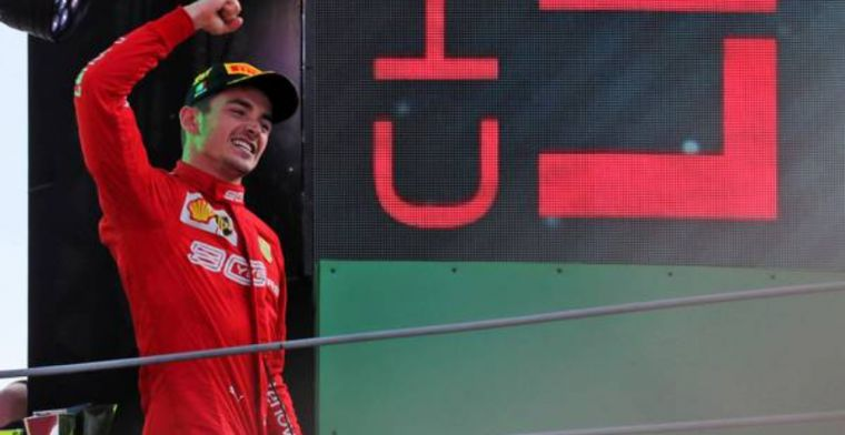 Leclerc thankful for his strategy for Italian GP win
