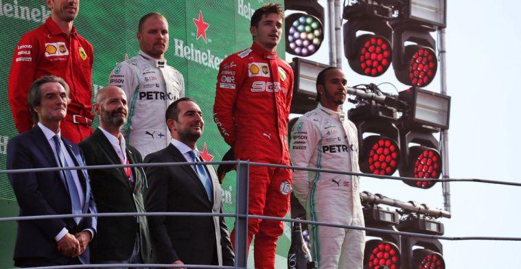 Brawn maakt al een voorzichtige vergelijking tussen Schumacher en Leclerc