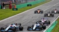"""Image: George Russell happy with """"surprising"""" Williams performance in Italy"""