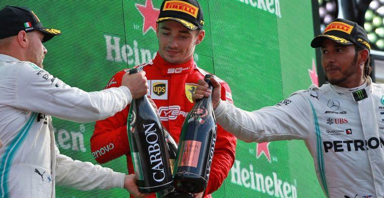 Leclerc is de Roger Federer van Formule 1