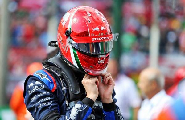 Daniil Kvyat not impressed with Alex Albon at the 2019 Italian Grand Prix