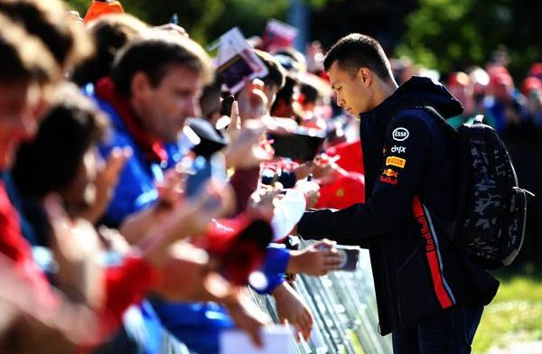 Alex Albon: I feel like this whole F1 thing is not really under the table