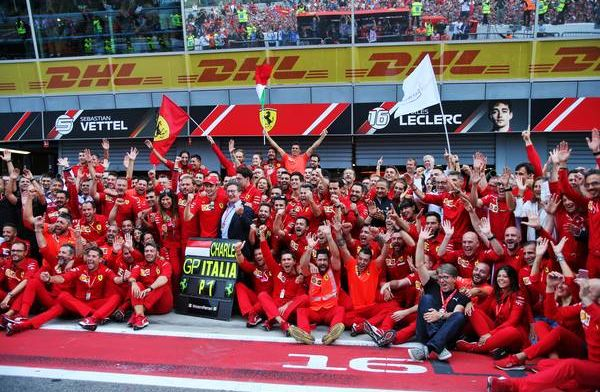 Wie gaat er aan kop van de Power Rankings, na de Italiaanse GP?