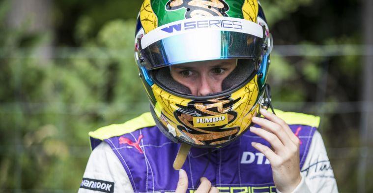 Beitske Visser ook volgende jaar de enige Nederlandse in de W Series