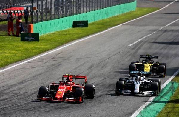 Charles Leclerc thought he had left a car-width for Lewis Hamilton in Monza