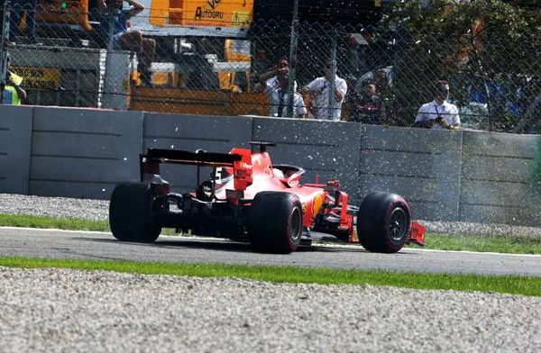 Vettel at risk of being excluded from a F1 race