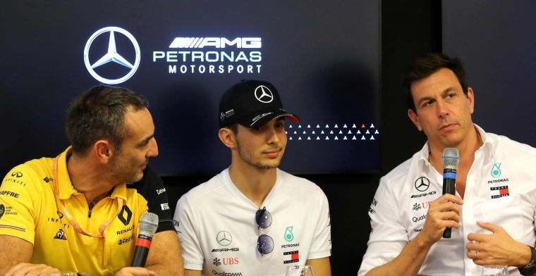 Ocon kan niet naar Mercedes in 2021, kansen voor Russell en Verstappen?