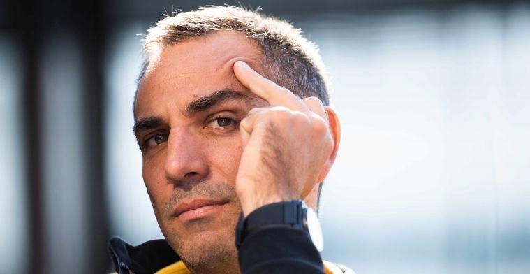 Abiteboul reageert op grapjes 'sceptische' Verstappen: 'Er kan geen kritiek zijn