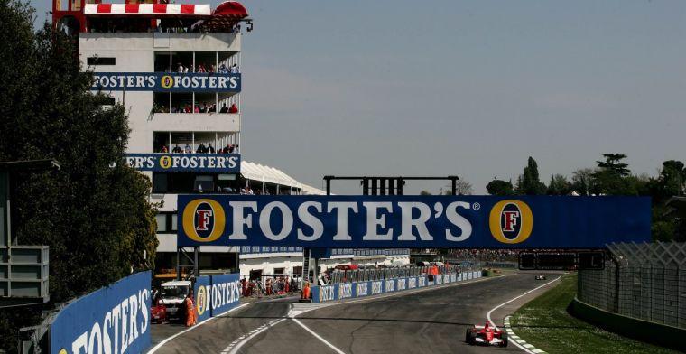 Imola en Mugello tonen interesse voor Formule 1 race