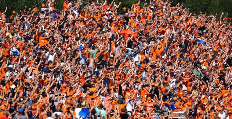Spa-Francorchamps ervaart Nederlandse GP niet als last: Geen groot verschil