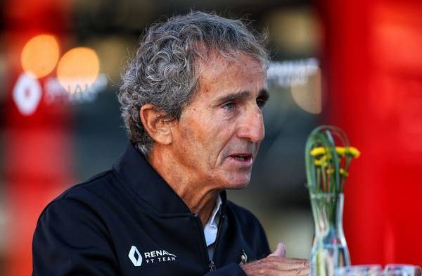 Renault have taken pressure off themselves according to Alain Prost