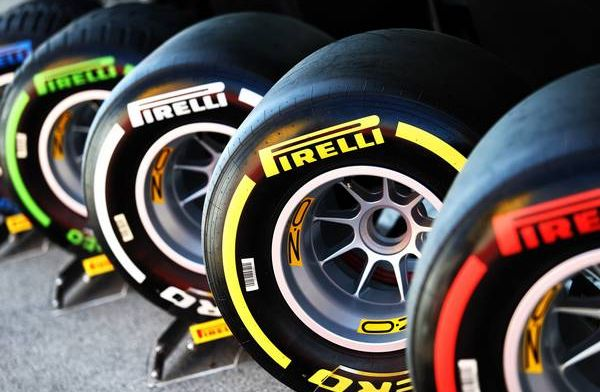 Look: The new 18-inch Pirelli tyres on a Formula 1 car