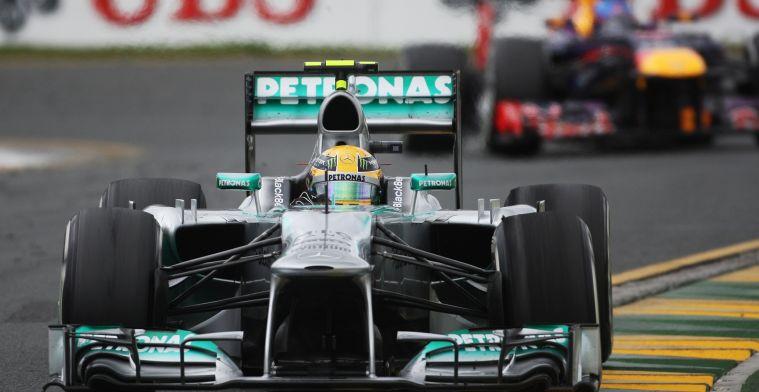 Start van droomcarrière Hamilton bij Mercedes was bijna niet doorgegaan in 2013
