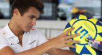 """Afbeelding: Rossi voelt zich vereerd door Norris: """"Ik ben ook een fan van hem"""""""