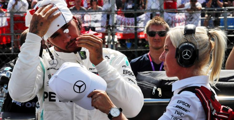 Lewis Hamilton over sociale media: Plaats alleen dingen die de moeite waard zijn