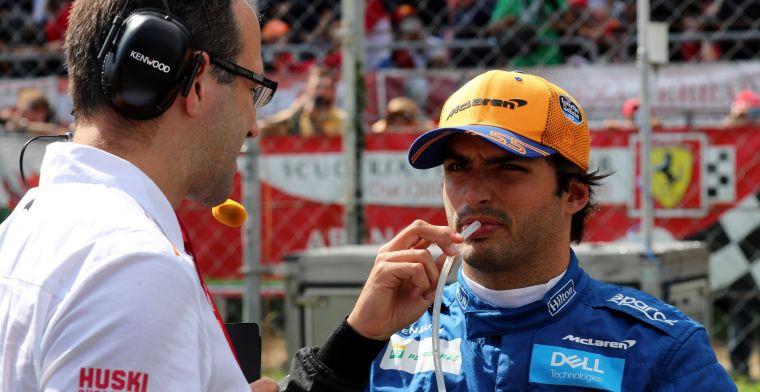 Inhalen zonder DRS? Carlos Sainz acht het anno 2019 nagenoeg onmogelijk!