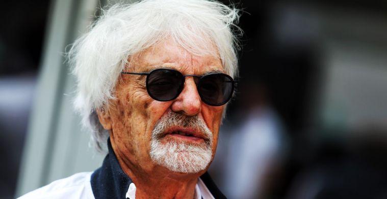 Bernie Ecclestone kan nog niet kiezen tussen Hamilton en Verstappen