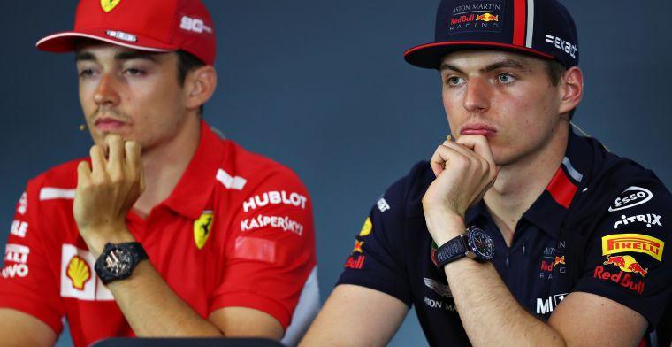 Voorlopig geen Verstappen naast Leclerc bij Ferrari: Dat managen is moeilijk
