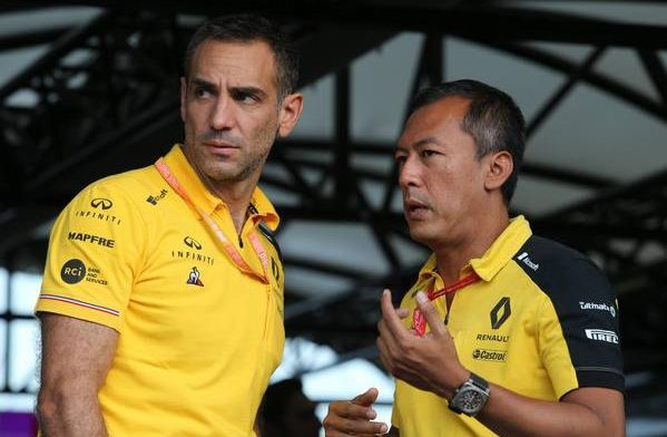 Cyril Abiteboul believes it's doable for Renault to beat McLaren in 2019
