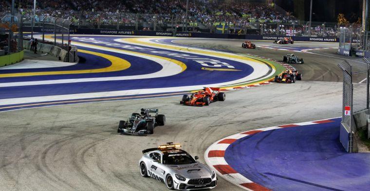 Tijdschema: De Grand Prix van Singapore 2019!