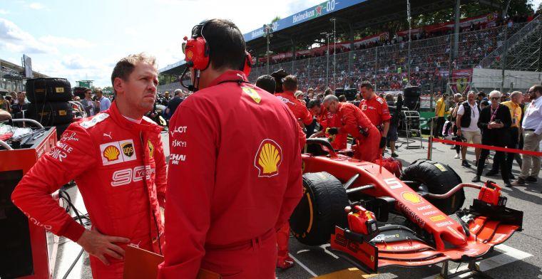 """Vettel niet verbaast over prestaties Leclerc  """"Wij kennen hem al langer"""