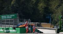 "Image: Alex Peroni ""very lucky to be walking"" after Formula 3 crash at Monza"