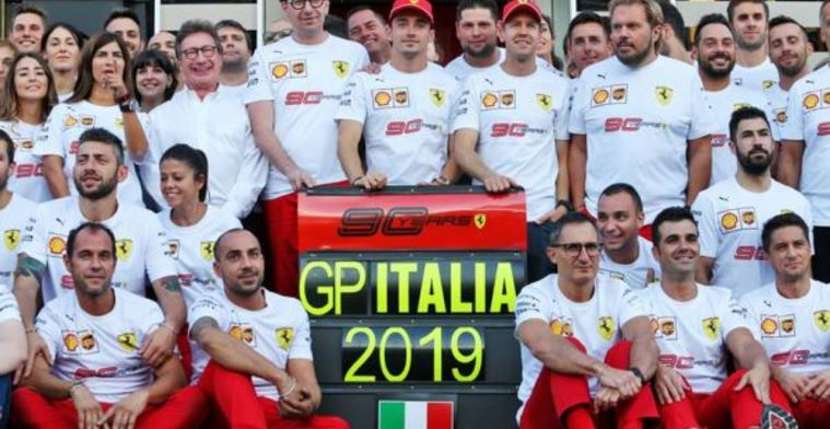 Binotto insists Ferrari's victories are in the past