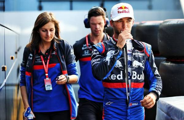 Pierre Gasly more comfortable with Toro Rosso car