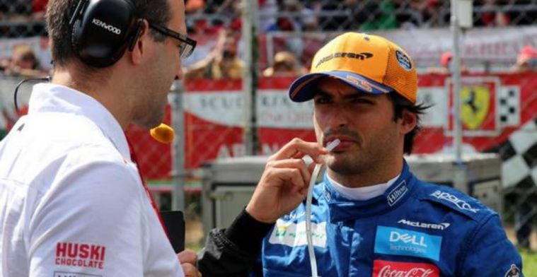 Sainz: I thought everyone should race that day