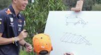 Afbeelding: Verstappen en Albon ontwerpen een originele auto voor een race in Tokyo