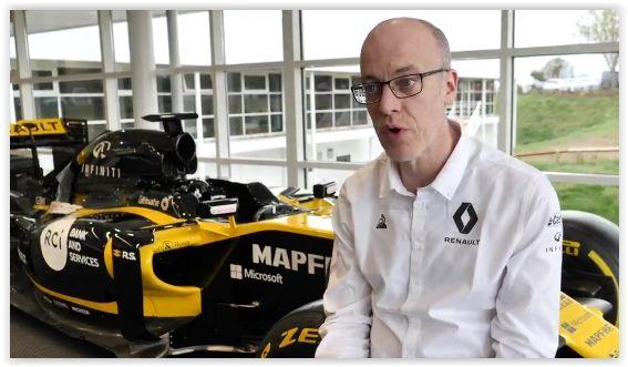 Technische staf Renault maakt zich op voor Singapore GP