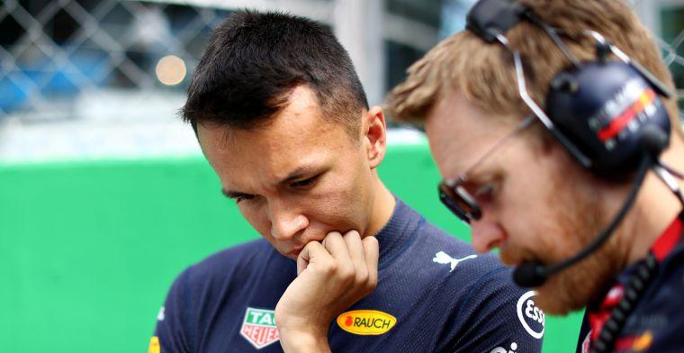 Albon leert nog steeds om de juiste set-up calls te maken bij Red Bull