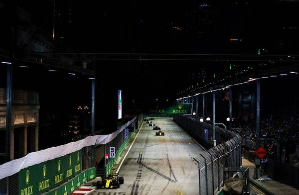 FIA adds third DRS zone to Singapore Grand Prix
