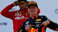 "Image: Gerhard Berger believes Max Verstappen has a ""small edge"" over Charles Leclerc"