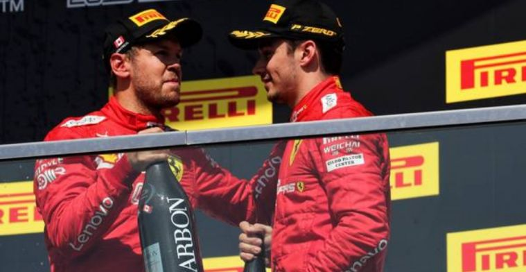 Leclerc plays down that he is Ferrari's number one!