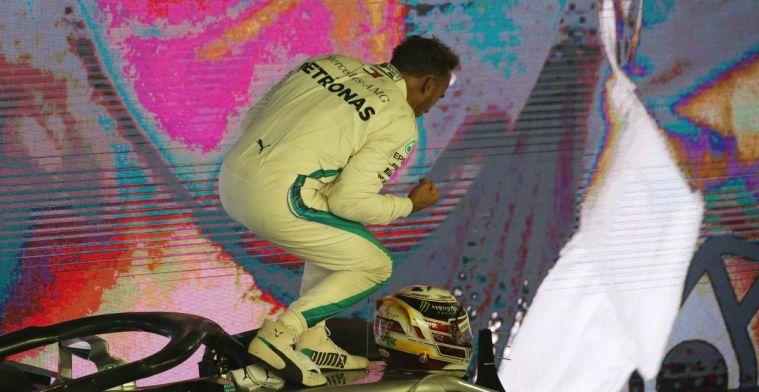 Hamilton over pole-ronde 2018: Weet niet wie er toen achter het stuur zat