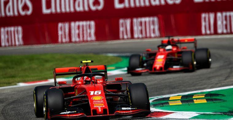 Leclerc de eerste coureur bij Ferrari? Hij helpt mij en ik help hem