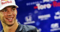 Afbeelding: Pierre Gasly voelt zich meer op zijn gemak in de auto van Toro Rosso