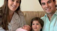 Afbeelding: Sergio Perez is voor de tweede keer vader geworden