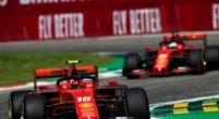 """Afbeelding: Leclerc de eerste coureur bij Ferrari? """"Hij helpt mij en ik help hem"""""""