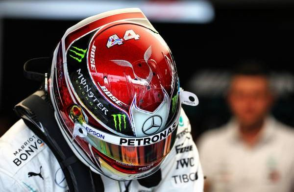 """Lewis Hamilton """"felt much better in the car today than I have for a while"""""""