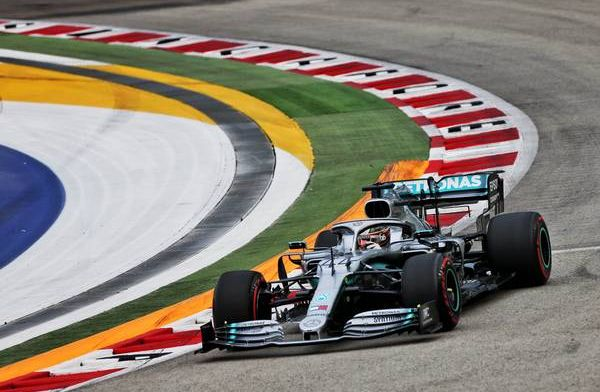 Mercedes fined €5000 for fuel temperature breach in Lewis Hamilton's car