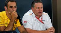 "Image: Zak Brown says ""it's going to be tough"" for McLaren to hold onto fourth"