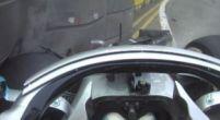 Afbeelding: Rode vlag tijdens VT1: Valtteri Bottas schrijft zijn Mercedes met een schuiver af