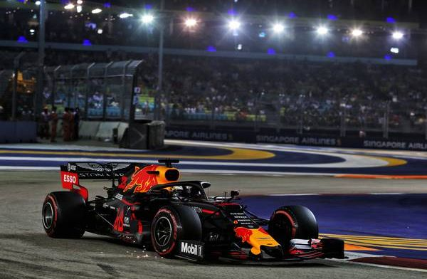 Verstappen not happy with P4 on grid in Singapore: I came here to win