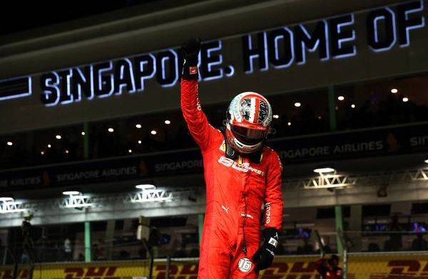 Leclerc thought he lost the car during pole-setting lap in Singapore