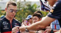 Afbeelding: Daniil Kvyat bevestigd bij Toro Rosso; Albon of Gasly naast Verstappen