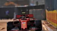 Image: Charles Leclerc takes surprise lead in final practice session - FP3 report